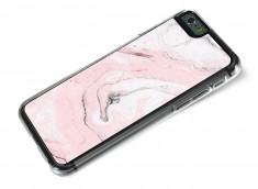 Coque iPhone 6/6S Effet Marbre- Rose