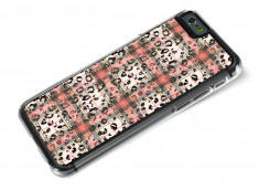 Coque iphone 6/6S Leopard Tartan