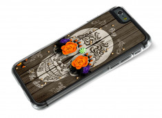 Coque iPhone 6/6S Flowers Skull