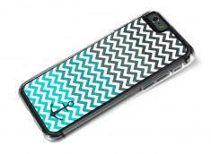 Coque iPhone 6/6S Blue Chevrons