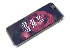 Coque iPhone 6 Plus Dites-le avec des fleurs- Va te faire foutre