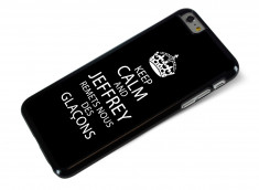 Coque iPhone 6 Plus Keep Calm Jeffrey
