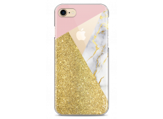 Coque iPhone 7/iPhone 8 Glitter Collage Marble