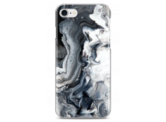 Coque iPhone 7/iPhone 8 Black and White Marble