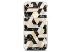 Coque iPhone 7Plus/8Plus Artistic geometric marble