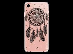 Coque iPhone 7Plus/8Plus Black drawing dreamcatcher