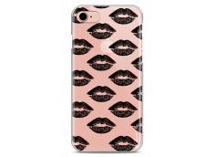 Coque iPhone 7Plus/8Plus Black Lips
