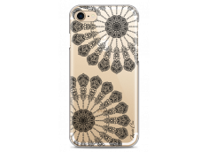 Coque iPhone 7/8 Black Stars Mandala