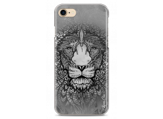 Coque iPhone 7/8 Black & White Lion Mandala