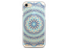 Coque iPhone 7/8 Blue Galaxy Mandala