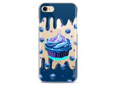 Coque iPhone 7Plus/8Plus Blue Chocolate muffins pattern
