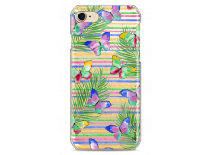 Coque iPhone 7/8 Multicolor watercolor butterflies