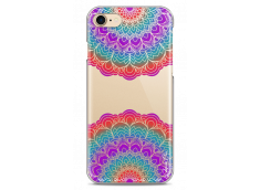 Coque iPhone 7/8 Double Multicolor Galaxy Mandala