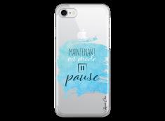 Coque iPhone 7Plus/8Plus Maintenant en mode pause