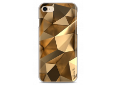 Coque iPhone 7/8 Fashion gold geometric forms