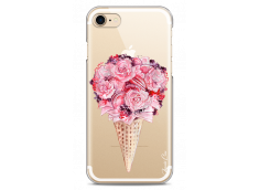 Coque iPhone 7/8 Flowers and macarons bouquet