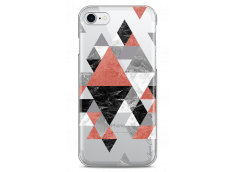 Coque iPhone 7Plus/8Plus Geometric Collage Marble