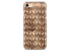 Coque iPhone 7Plus/8Plus Gold deco geometric