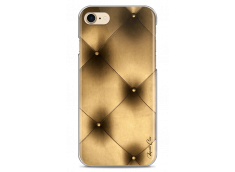 Coque iPhone 7/8 Soft gold geometric design