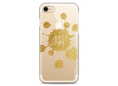Coque iPhone 7Plus/8Plus Gold Glitter - Girl Power