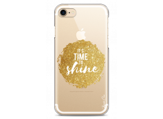 Coque iPhone 7Plus/8Plus Gold Glitter - It's Time to Shine