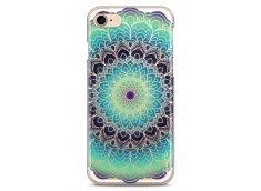 Coque iPhone 7Plus/8Plus Green Galaxy Mandala