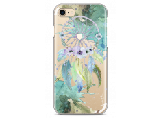 Coque iPhone 7/8 Green watercolor floral dreamcatcher