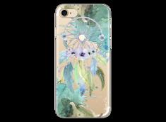 Coque iPhone 7Plus/8Plus Green watercolor floral dreamcatcher