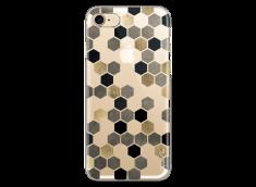 Coque iPhone 7/8 Grey & Black Cubic