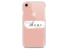 Coque iPhone 7/8 Happy Girls Shine Brighter