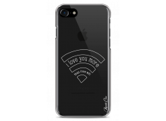 Coque iPhone 7/8 Today I Love You More Than Wifi