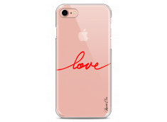 Coque iPhone 7Plus/8Plus Red Love