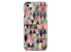 Coque iPhone 7/8 Multicolor Triangle Design