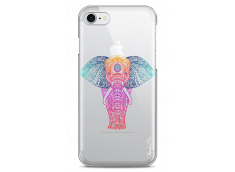 Coque iPhone 7/8 Pastel Tribal Elephant Mandala
