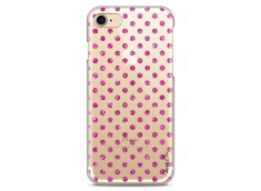 Coque iPhone 7/8 Pink glitter dots