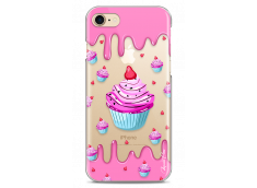 Coque iPhone 7Plus/8Plus Pink Chocolate muffins pattern