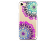 Coque iPhone 7Plus/8Plus Purple & Blue Mandala