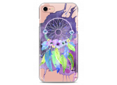 Coque iPhone 7/8 Purple watercolor floral dreamcatcher
