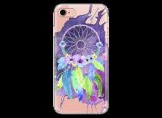 Coque iPhone 7Plus/8Plus Purple watercolor floral dreamcatcher