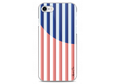 Coque iPhone 7/8 Red & Blue geometric forms