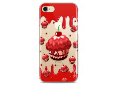 Coque iPhone 7Plus/8Plus Red Chocolate muffins pattern