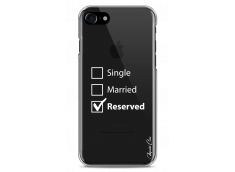 Coque iPhone 7Plus/8Plus Single Married Reserved