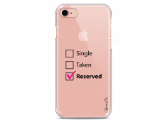 Coque iPhone 7/8 Single Taken Reserved