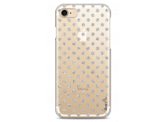 Coque iPhone 7Plus/8Plus Silver glitter dots