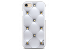 Coque iPhone 7Plus/8Plus Silver & gold dots pattern
