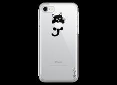 Coque iPhone 7/8 Cat toujours avec toi