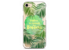 Coque iPhone 7/8 Tropical watercolor design Bonheur