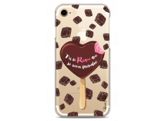 Coque iPhone 7/8 Chocolate tu es mon risque