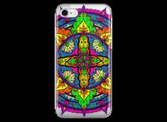 Coque iPhone 7Plus/8Plus Vitrail Mandala