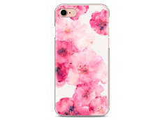 Coque iPhone 7/iPhone 8 Watercolor pink bouquet flowers